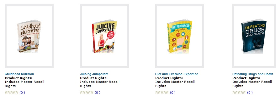 Free Resell Rights Products Downloads