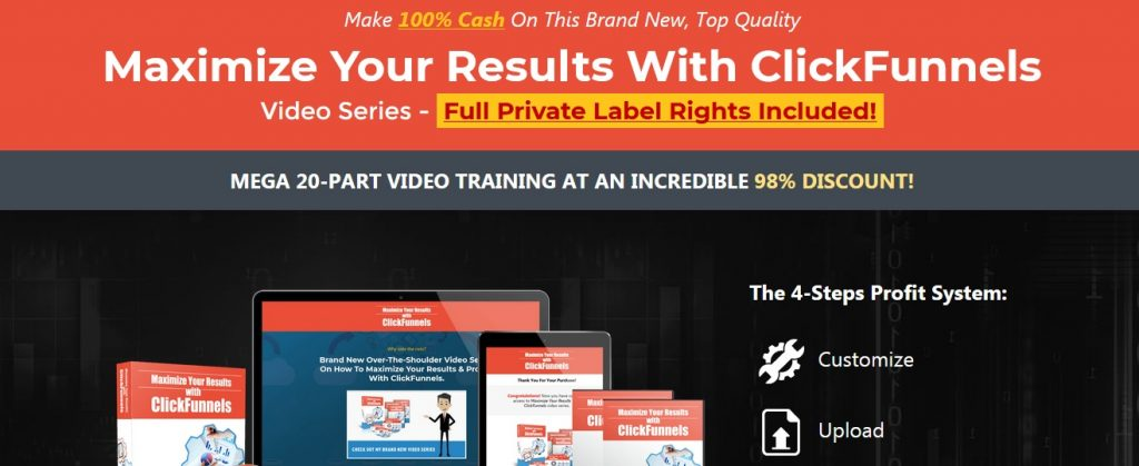 Clickfunnels PLR video course