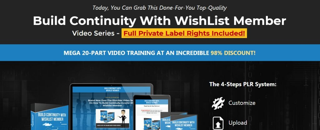 Wishlist PLR videos