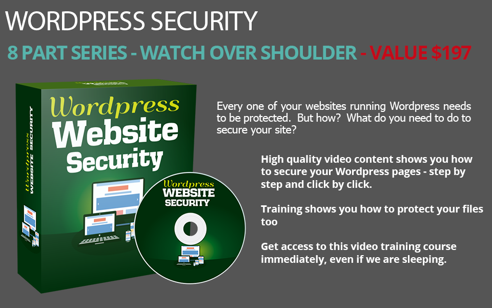 WordPress Security PLR Course
